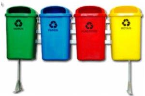 Coleta seletiva de lixo: cores, tipos e separação do lixo